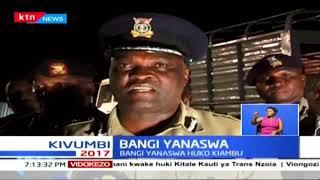 Zaidi ya kilo 100 za bangi zanaswa na kikundi cha flying squad kaunti ya Kiambu