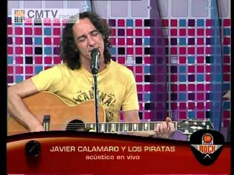 Javier Calamaro video Navegar - Acústico CM Rock 2011