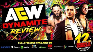 AEW DYNAMITE FULL GEAR FALLOUT & ANOTHER TITLE FOR JERICHO? Full Show Review & Highlights 11/13/19