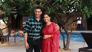 Akshay Kumar Along With Vidya Balan Spotted Promoting Their Film Mission Mangal