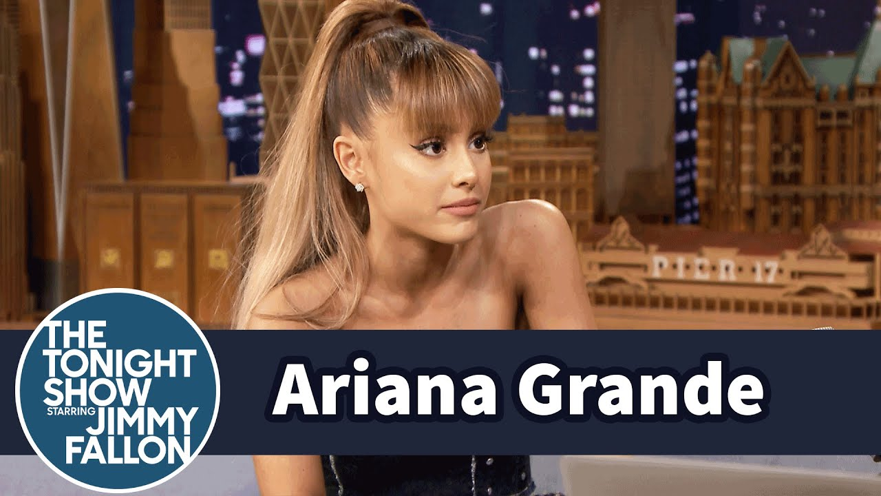 Ariana Grande Freaked Out in the Recording Booth with Stevie Wonder thumbnail