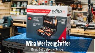 Wiha Werkzeugkoffer Basic Set L electric 34-tlg