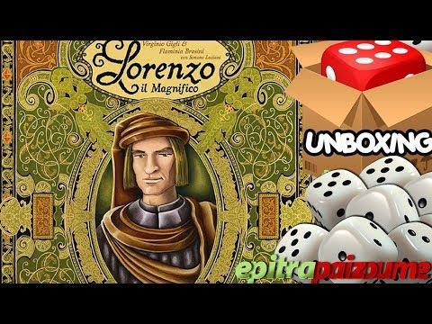 Lorenzo il Magnifico - Unboxing Video (EN) by Epitrapaizoume