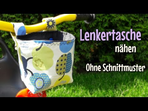 Lenkertasche - Nähanleitung - OHNE Schnittmuster - Nähtinchen