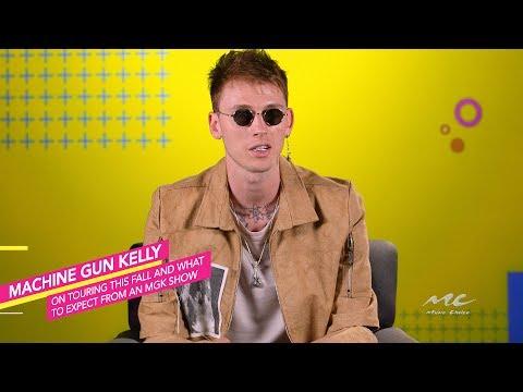 Machine Gun Kelly on His Upcoming Fall Tour
