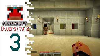 Minecraft Diversity 2 with Pause - EP03 - Evil Pharoah Steve!