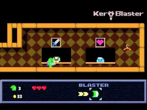 Gero Blaster Is Now Called Kero Blaster