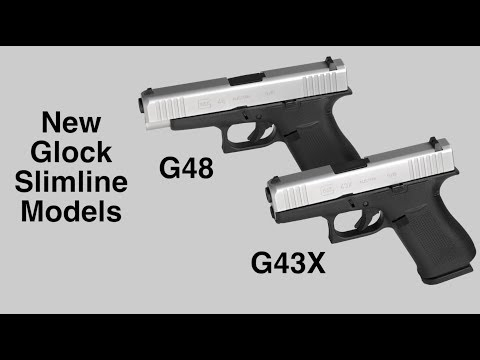 Glock's Introduces The G48 & G43X