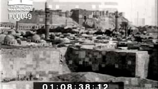 preview picture of video 'Documentary, Armoured cars at Aleppo 1918 فيلم وثائقي, سيارات مسلحة تتجه الى حلب'