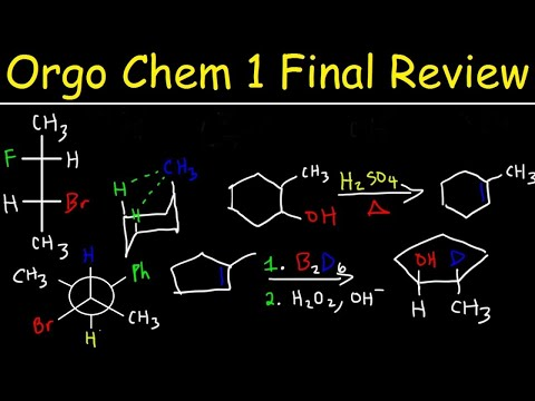 Organic Chemistry 1 Final Exam Review - YouTube