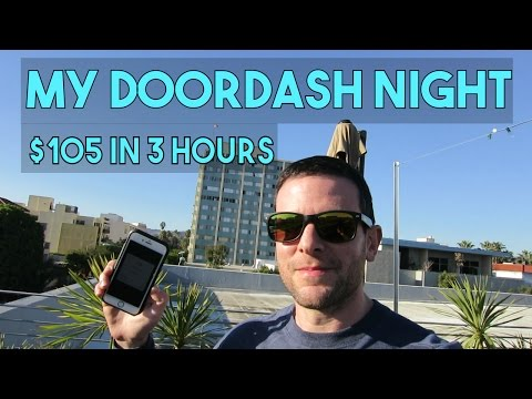 , title : 'MY DOORDASH NIGHT RECAP | $105, 8 Deliveries, 28 Miles | It's All About The Tips!'