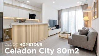 Căn hộ 80m2 đẹp hiện đại và nhẹ nhàng tại Emerald Celadon City