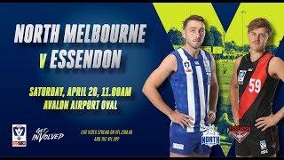 Rd 3: VFL North Melbourne V Essendon