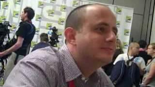 Eric Kripke at Comic Con 2010