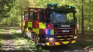 29.04.2019 – Brand i brændestak – Albertslund