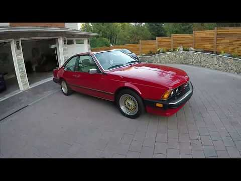 1986 BMW 635csi 6 speed manual with BBS wheel!