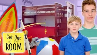 Bunk Bed Disaster Waiting To Happen?! | Get Out Of My Room | Universal Kids
