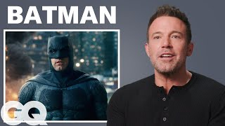 Ben Affleck Breaks Down His Most Iconic Characters   GQ