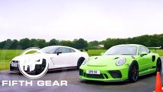 FifthGear:Porsche911GT3RSVsNissanGTRNismo