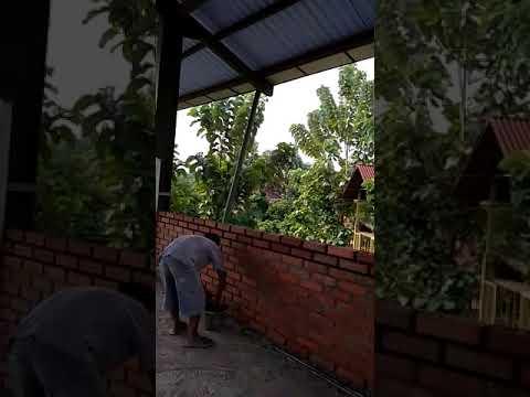 Video Pemasangan Bata Expose Intrlock, Proyek di Village CISEENG BOGOR