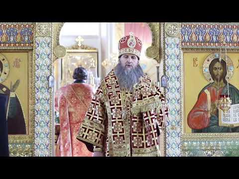 Проповедь митрополита Даниила в понедельник Светлой седмицы
