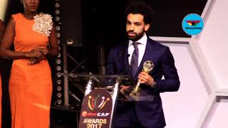 CAF Awards: Mohamed Salah wins 2017 African Player of the Year