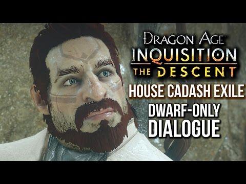 Dragon Age Inquisition - The Descent Walkthrough - Dragon