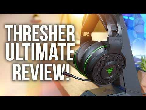 Razer Thresher Ultimate Wireless Headset Review & Unboxing!