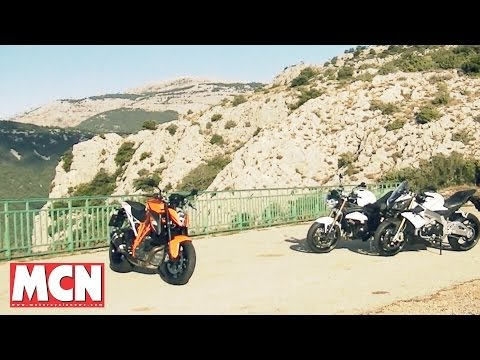 KTM Super Duke R, Aprilia Tuono V4R ABS, Triumph Speed Triple | Group Test | Motorcyclenews.com