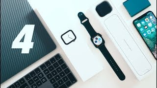 Apple Watch 4 Unboxing - Space Gray Aluminum