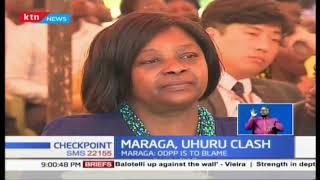 CJ Maraga defends judges after president Uhuru's denunciation on lenient bail terms