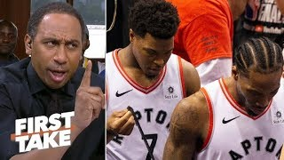 'You were up 3-1!' – Stephen A. doubts if the Raptors can win Game 6 | First Take