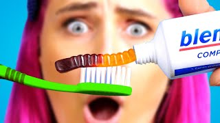OMG! CRAZY Food Pranks! Funny DIY Pranks On Friends, Food Hacks and Funny Situations By Crafty Panda