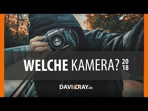 ⭐ Die richtige KAMERA für EINSTEIGER ⭐ 2017/2018 📷 David Cray
