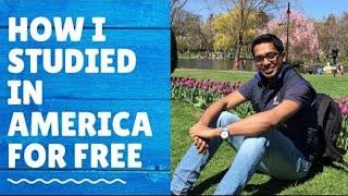 How I Got A 100%(full Ride) Scholarship From American Universities   My Experiences  Ashish Fernando