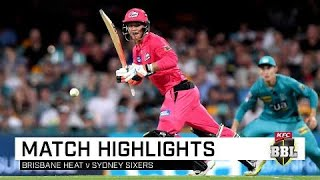 Sixers cash in as Heat batting woes continue | KFC BBL|09