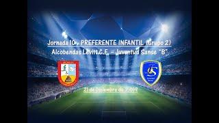 R.F.F.M. - Jornada 10 - Preferente Infantil (Grupo 2): Alcobendas-Levitt C.F. 3-3 Juventud Sanse.
