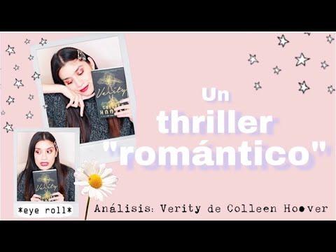 """Analizando el """"ROMANCE"""" en Verity por Colleen Hoover • Gaby Viem"""