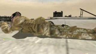 preview picture of video 'Project Reality 0.8 - British Sniper Team'