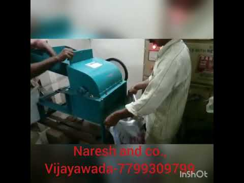 Coconut breaking and pieces machine -7799309799