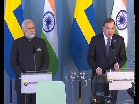 PM Modi and Sweden