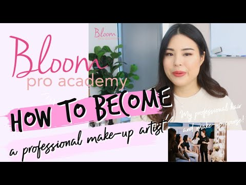 How to Become a Professional Make-up Artist in Singapore   Bloom ...