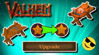 Valheim How To Upgrade Workbench and Forge | Valheim Tips and Tricks