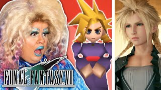Real Drag Queen Reviews Cloud's Drag Makeover in Final Fantasy VII