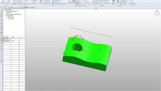 Projektionsfräsen aus dem Modul 3D-Fräsen von vectorcam