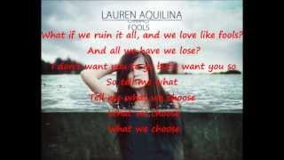 Lauren Aquilina-Fools