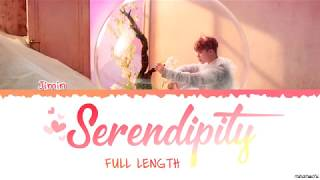 Gambar cover [Full Length Edition] BTS  JIMIN - SERENDIPITY (세렌디피티) Lyrics [Color Coded Han_Rom_Eng]