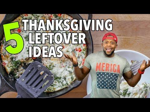 5 Healthy Thanksgiving Leftover Recipe Ideas / 5 Ideas para Sobras del Día de Acción de Gracias
