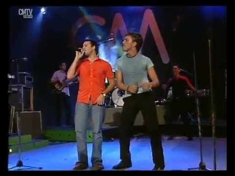 Banda XXI video Olvídala - CM Vivo 2003