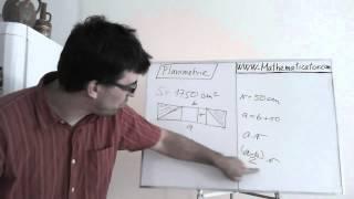 Planimetrie 2 - příklad 1 - lichoběžník